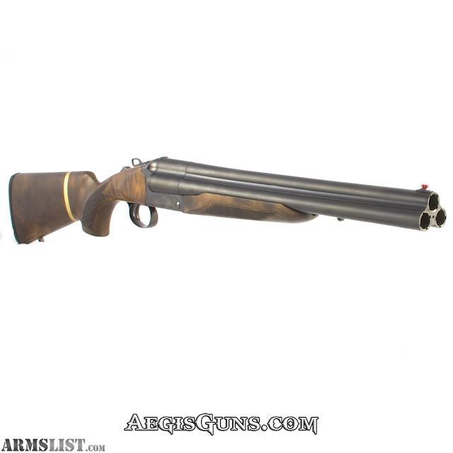 ARMSLIST - For Sale: CHIAPPA TRIPLE THREAT 12/18.5 BL/WD 3″