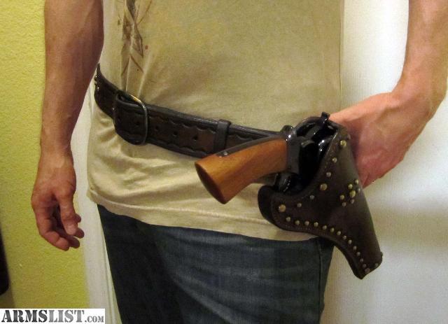 Dallas Gun Trader >> ARMSLIST - For Sale: Holster & Belt Rig for 1858 Starr .44 Double action revolver