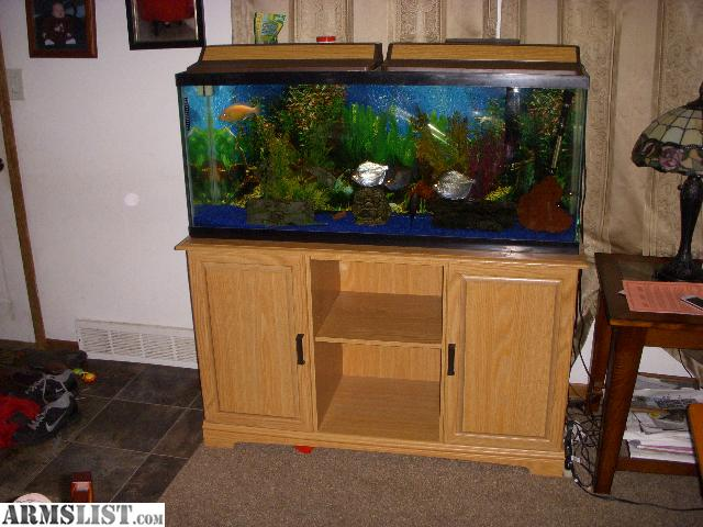 Armslist for sale 55 gallon fish tank with stand for 55 gallon fish tank stand