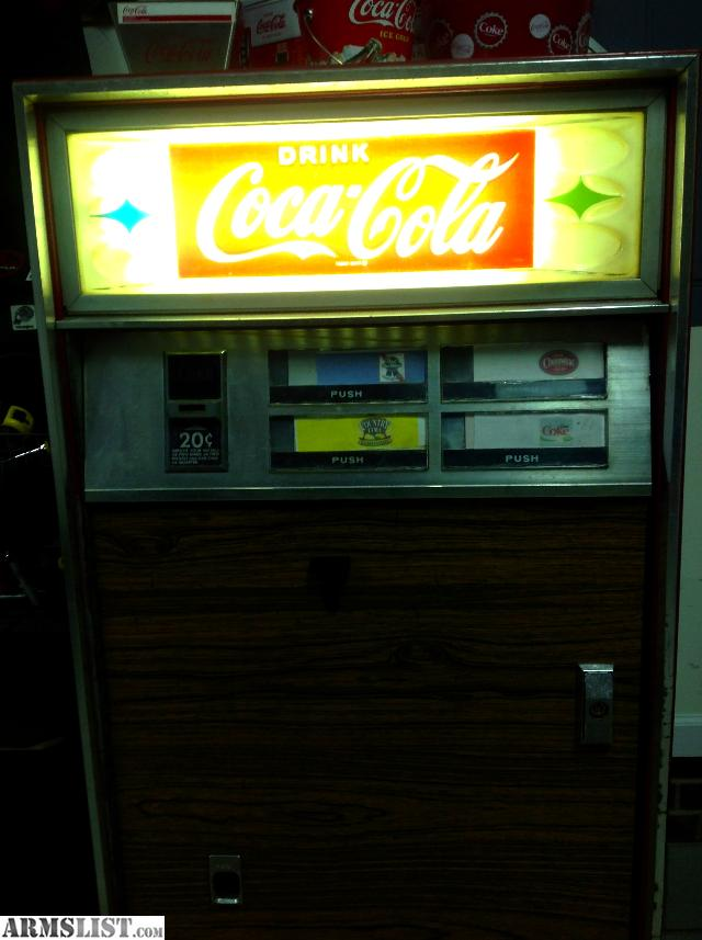coke machine sale