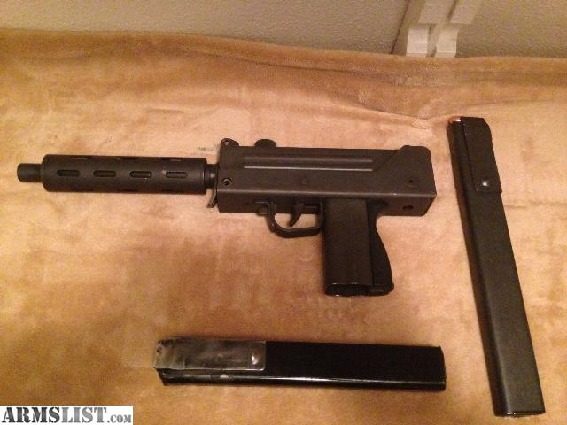 ARMSLIST - For Sale: Ingram M10A1 (Mac 10) .9mm .45Acp 500 ...
