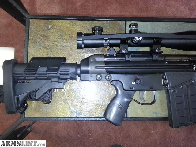 Cetme G3 For Sale: For Sale: CETME SPORTER G3 HK Clone + 6 Mags