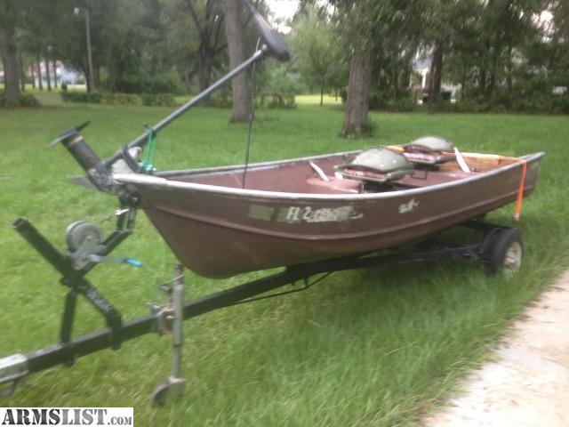 Armslist for sale trade 14ft aluminum jon boat w for Trolling motor on sale