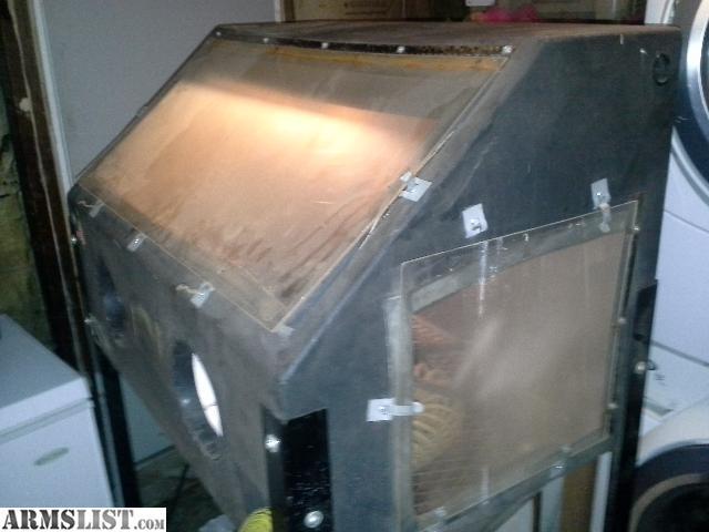 ARMSLIST - For Sale/Trade: Sandblasting Cabinet