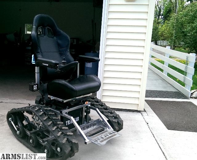 ARMSLIST For SaleTrade All terrain wheelchair tracked track chair – All Terrain Chair