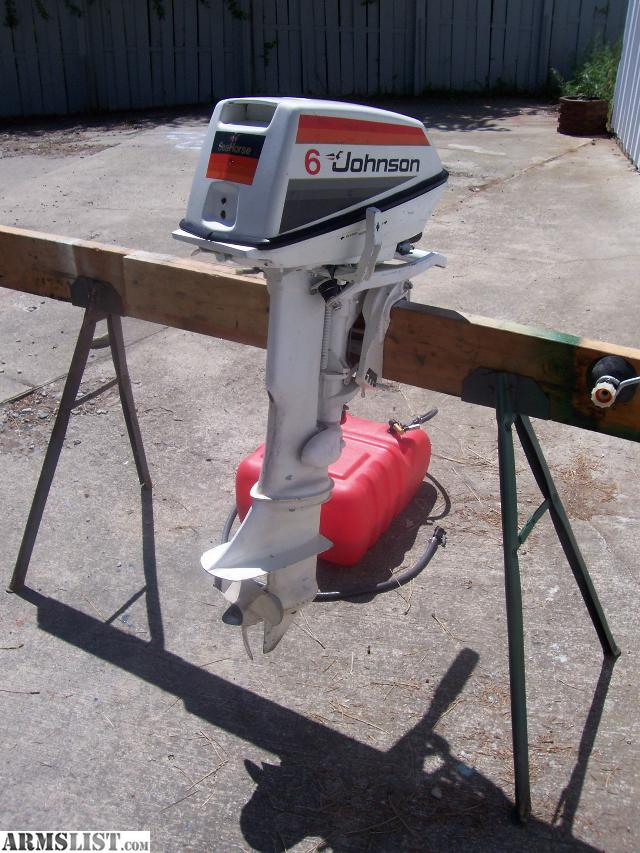 Armslist for sale trade clean 6 hp johnson outboard for 6 hp motor for sale