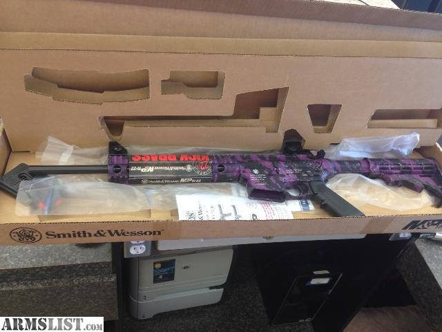Armslist for sale smith wesson m p 15 22 purple camo for Golden nugget pawn jewelry holiday fl