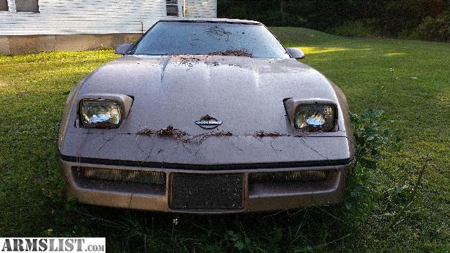 Armslist For Sale Trade 1985 Chev Corvette Bad Motor