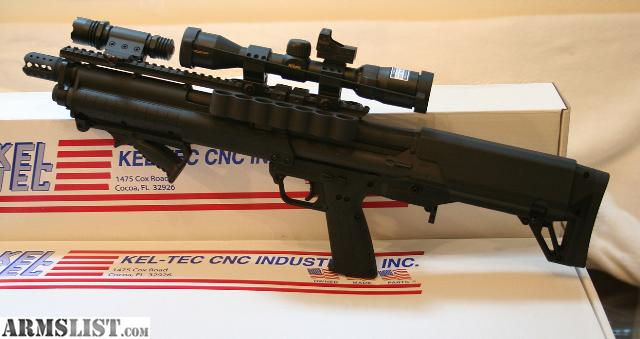 "ARMSLIST - For Sale: Kel-Tec KSG 12ga Shotgun ""Custom ..."