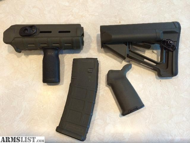 Armslist For Sale Complete Magpul Od Green Furniture Set W Extras