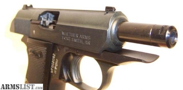 Walther Model PP  22 LR with Treaded Barrel - Page 2