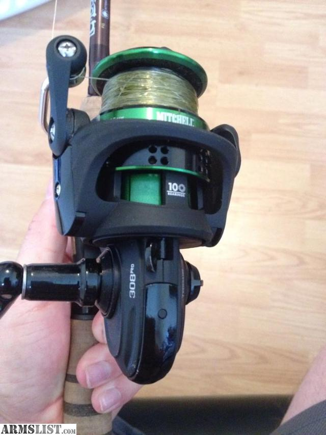 Armslist for sale g loomis and mitchell 308 pro for Pro fishing gear