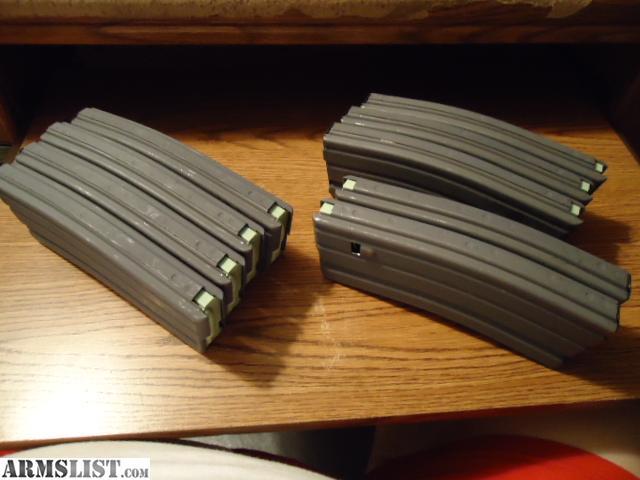 ARMSLIST - For Sale: 12 / AR-15 - 30RD. METAL MAGZINES / 5.56 & .223