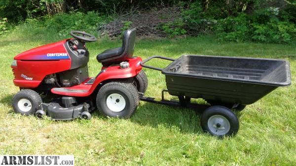 Craftsman Dyt 4000 Accessories : Armslist for sale trade craftsman garden tractor