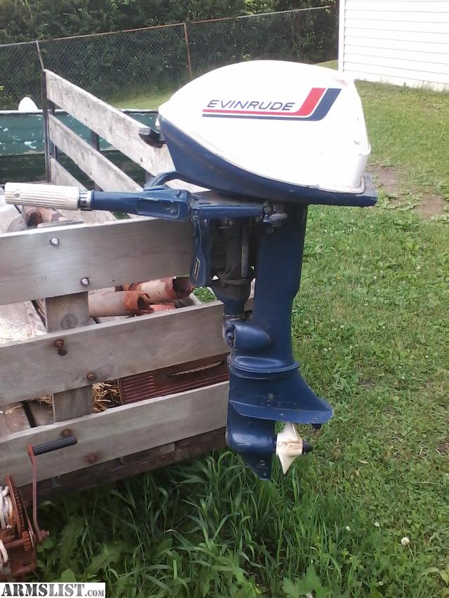 Armslist for sale trade 6 hp evinrude fisherman for Outboard motors for sale in wisconsin