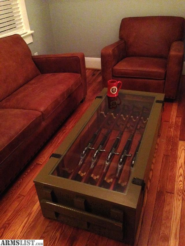 ARMSLIST For Sale Mosin Nagant Coffee Table