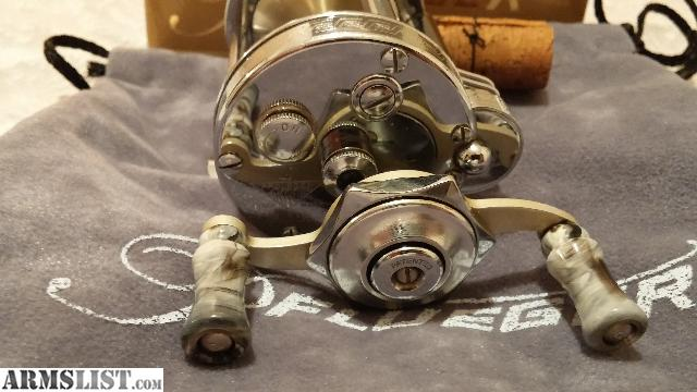 Armslist for sale old vintage fishing reel pflueger for Vintage fishing reels for sale