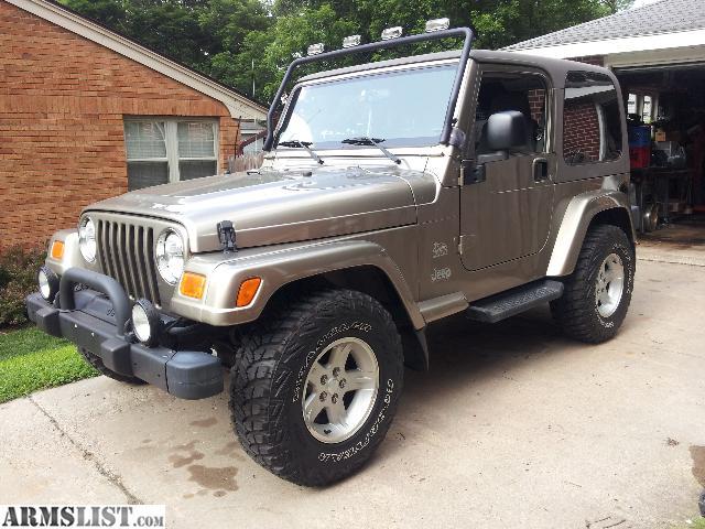 armslist for sale 2004 jeep wrangler sahara 42 xxx miles. Black Bedroom Furniture Sets. Home Design Ideas