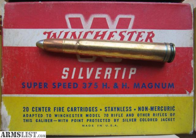 For Sale: 194 Rounds .375 H&H Magnum Ammo