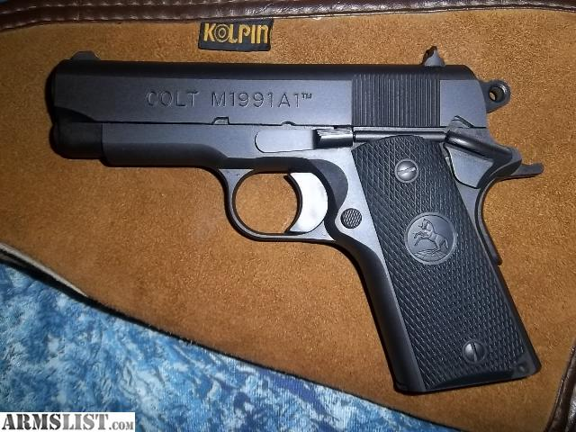 ARMSLIST - For Sale: Colt M1991A1 Compact Model .45 ACP