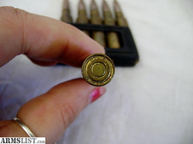 ARMSLIST - For Sale: 7,35 Carcano Ammunition on 6 round ...