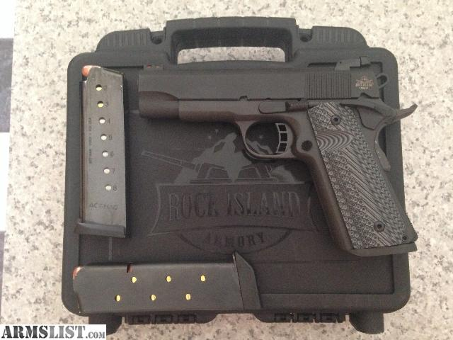 ARMSLIST - For Sale: Rock Island Armory M1911 A1 .45ACP ...
