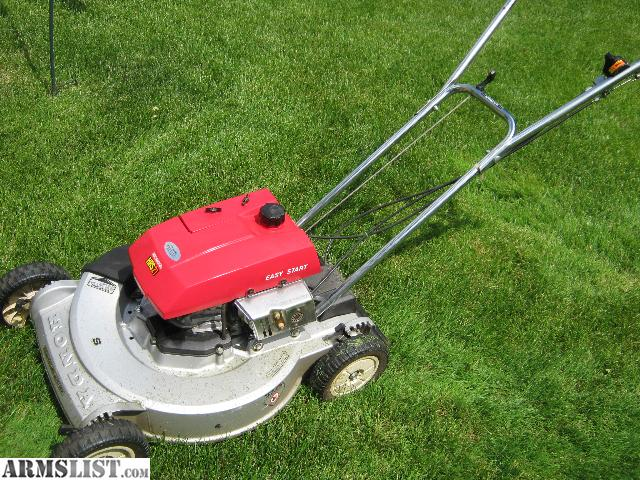 deep self petrol propelled line honda lawn mower combo and etch whipper trimmer