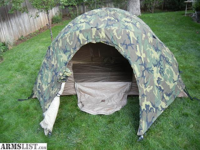 Backpacking Tent Hiking Tent Combat Tent 3 Season Tent Military Surplus Tent Hunting tent & ARMSLIST - For Sale/Trade: Used 2 person 3 season USMC combat tent