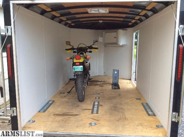 Armslist for sale motorcycle trailer fully enclosed for Vermont department of motor vehicles south burlington vt