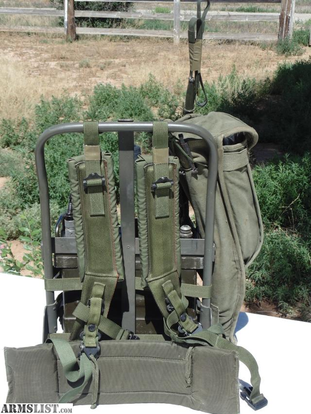ARMSLIST - For Sale: RT505/PRC 25 Vietnam Era Army Backpack Radio