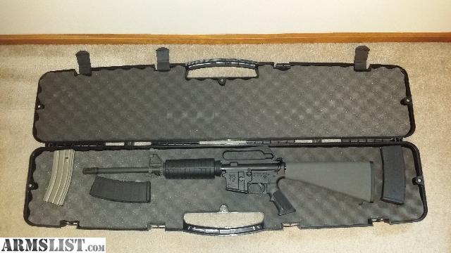 ARMSLIST - For Sale: Like New Olympic Arms Plinker Plus AR15