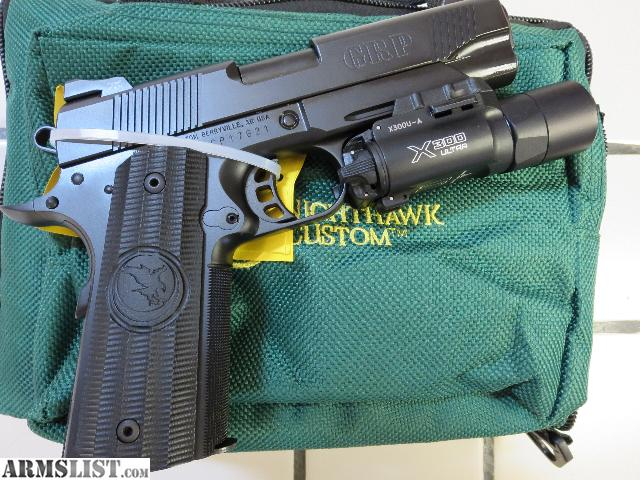 ARMSLIST - For Sale: Nighthawk Custom GRP Commander 10mm