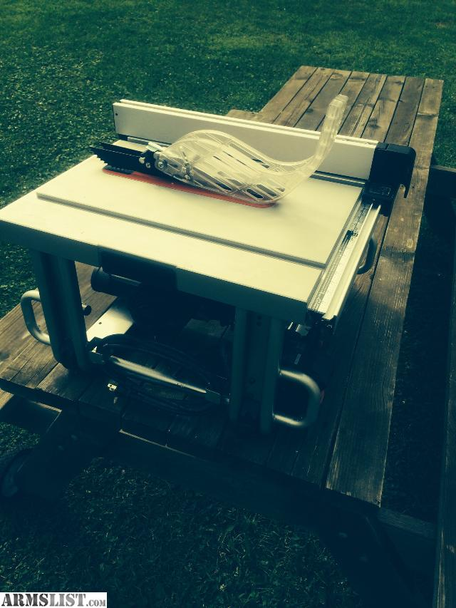 Armslist For Sale Trade Bosch Job Site Table Saw