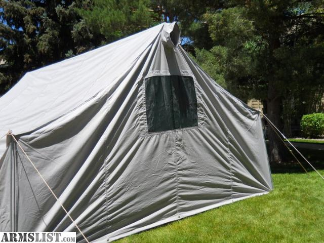I have a 14x17 water u0026 mildew treated tent for sale. It is one of their grey material ones that I bought from their Monthly Special. & ARMSLIST - For Sale: Davis Tent and Awning 14x17 wall tent.