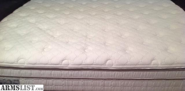 we purchased this sleep number silver edition calking mattress in jan when we moved to wa the mattress did have a protective mattress pad on it the