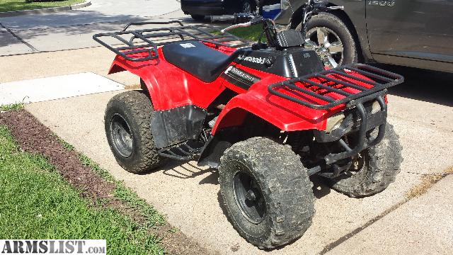 armslist for sale trade 2009 kawasaki bayou 250 four wheeler. Black Bedroom Furniture Sets. Home Design Ideas