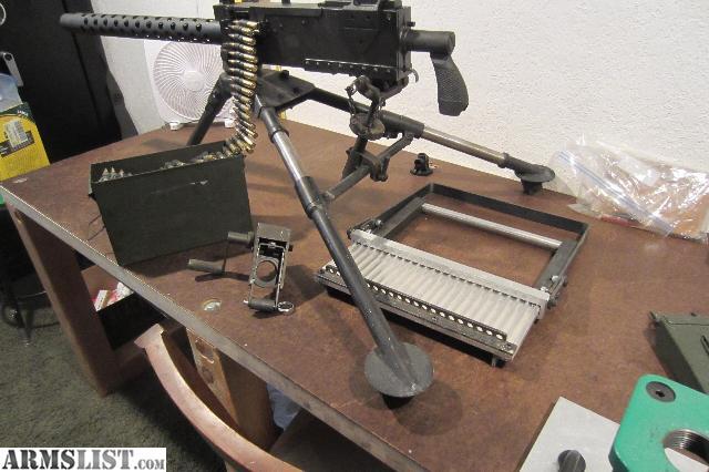 belt fed gatling gun