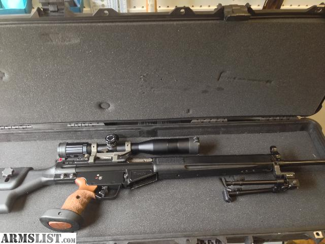 For Sale: HK SR91 Rifle Sell Or Trade. Amazing