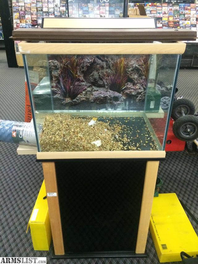 Armslist For Sale Fish Reptile Aquarium With Stand