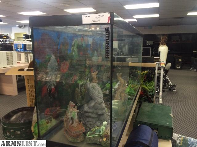 Armslist For Sale 65 Gallon Fish Or Reptile Aquarium