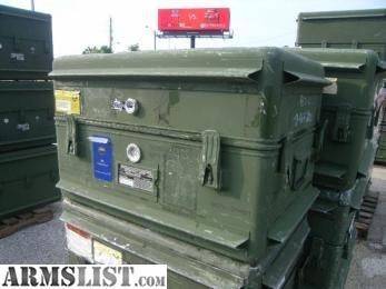 Armslist For Sale Military Alum Storage Containers Ammo