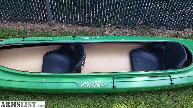 Armslist for sale old town loon 160t tandem kayak for Tandem fishing kayak for sale