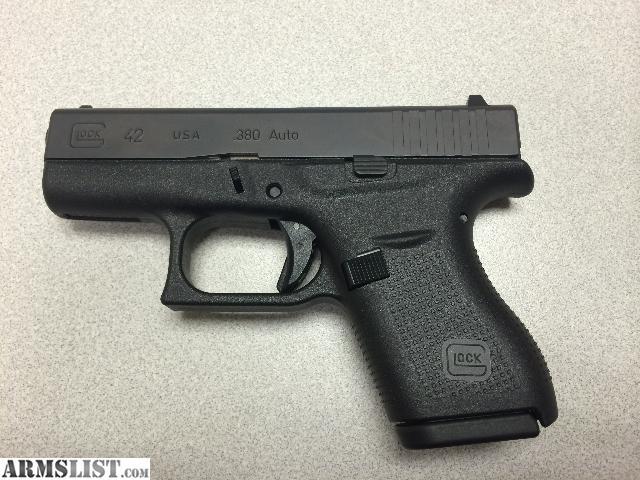 armslist for sale glock g42 380acp