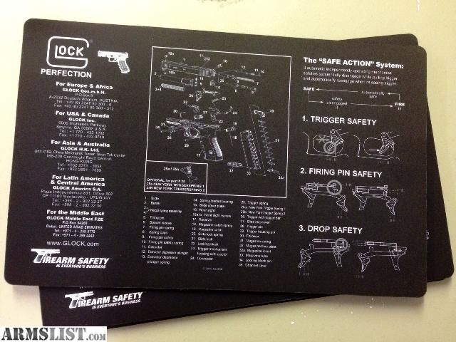 Armslist For Sale Glock Oem Bench Mat New