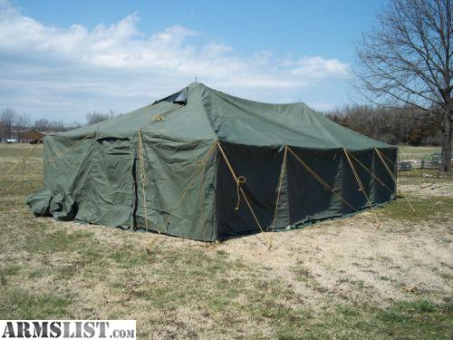 HUNTER/OUTFITTER GP MEDIUM TENT AND HUNTING CAMP ACCESSORIES & ARMSLIST - For Sale: Tent GP Medium for Hunting Party/Outfitter w ...