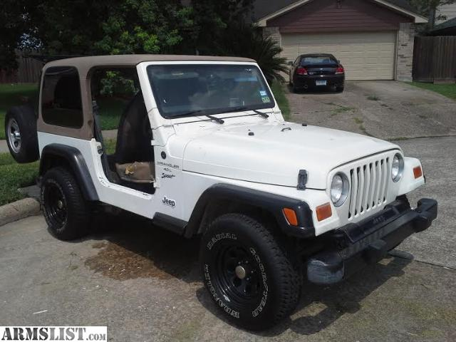 armslist for sale trade 01 jeep wrangler 4x4 hardtop trade. Cars Review. Best American Auto & Cars Review
