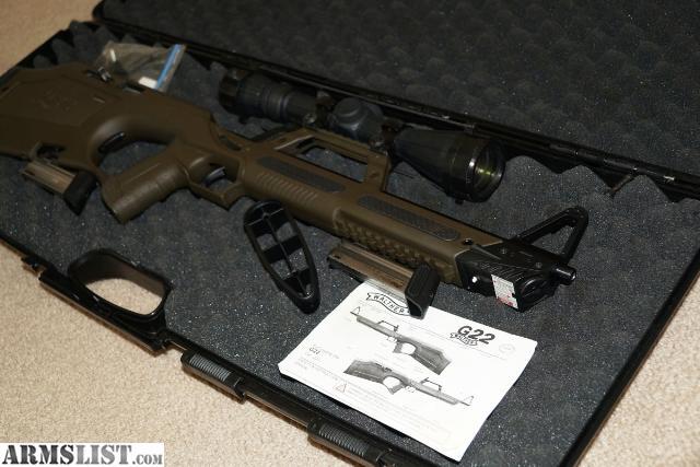 armslist for sale walther g22 22lr semi auto bullpup rifle rh armslist com Walther GSP Rifles Walther 22LR Rifle