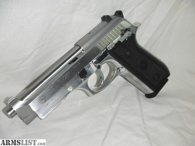 ARMSLIST - For Sale: Taurus PT 92 AR stainless steel