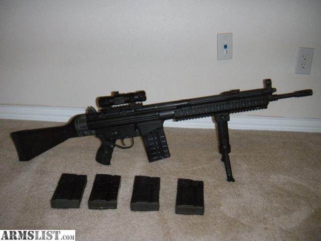 Cetme G3 For Sale: For Sale: Cetme HK91 G3 Clone