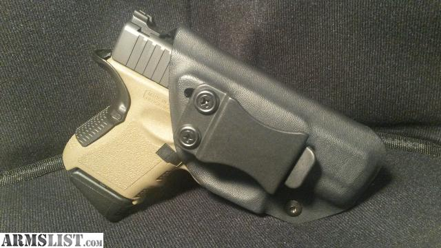 ARMSLIST - For Sale/Trade: Glock Kydex IWB holster right hand draw ...